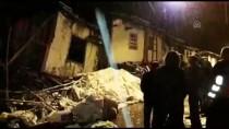 BÜYÜKBAŞ HAYVAN - Tokat'ta İki Katlı Ahşap Ev Çöktü