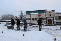 Uçhisar Belediyesi Karla Mücadele Çalışmalarına Devam Ediyor