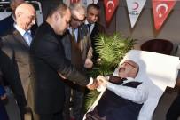 HÜKÜMET KONAĞI - Vali Demirtaş'tan Kan Bağışı Kampanyasına Destek