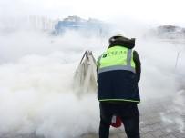 İŞ GÜVENLİĞİ UZMANI - VEDAŞ'ta Yangın Tatbikatı