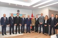 İMAR VE KALKINMA BANKASI - BM Kalkınma Programı Heyetinden Vali Demirtaş'a Ziyaret