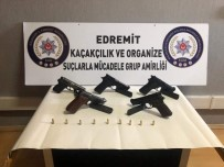 Burhaniye'de Silah Kaçakçılığı Operasyonu