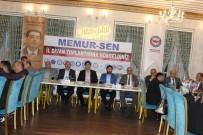 MUSTAFA KARATAŞ - Memur-Sen İl Divan Toplantısı Yapıldı
