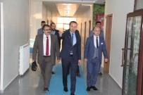MEHMET KESKIN - Ağrı Cumhuriyet Başsavcısı Turgut'tan Tekin'e İade-İ Ziyaret