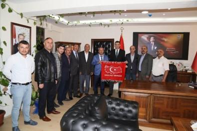 Başkan Er'den Emniyet Müdürü Atanur'a Ziyaret