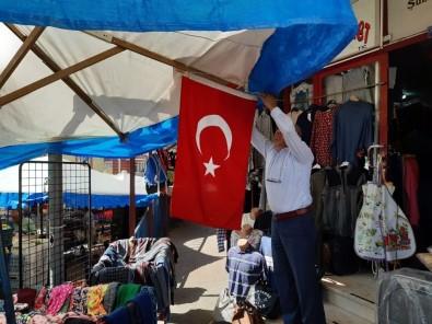 Başkan Özcan'dan Bayrak Çağrısı