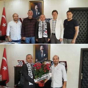 Beşiktaşlılar Kaymakam Öner'i Ziyaret Etti