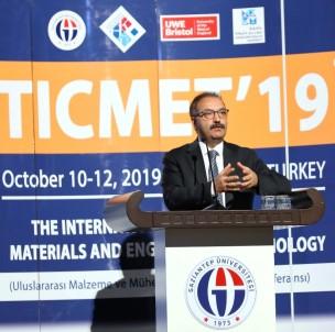 GAÜN'de Uluslararası Malzeme Ve Mühendislik Teknolojileri Konferansı