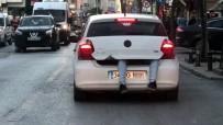 İstanbul'da Trafikte Şoke Görüntü