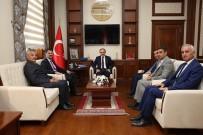MEHMET ÇıNAR - İZDES AFAD Heyeti Vali Cüneyt Epcim'i Ziyaret Etti