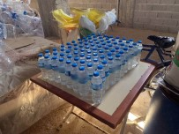 Kaçak İçki İmalathanesine Baskın