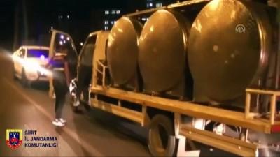 Kaçak Sigara Ve Telefonları Süt Tankerinde Saklamış
