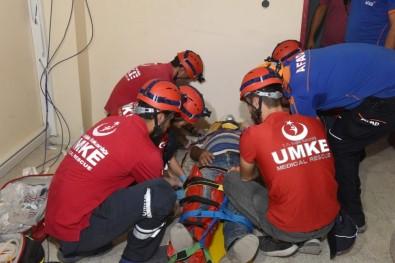 Kilis'te Gerçeğini Aratmayan Deprem Tatbikatı