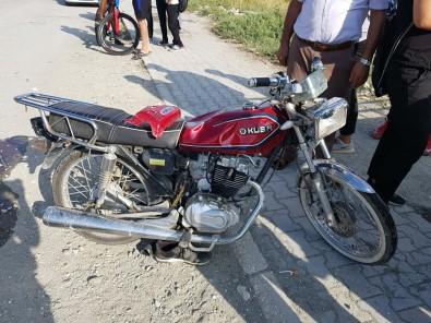 Samandağ'da Trafik Kazası Açıklaması 1 Yaralı