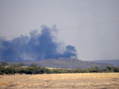 Süleyman Şah Türbesi Çevresindeki YPG/PKK Hedefleri Yoğun Ateş Altında