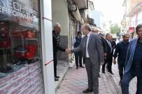 Sungurlu'da Belediye Caddesine İlk Kepçe Vuruldu
