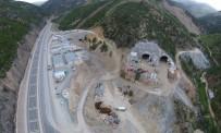 Yeni Zigana Tüneli'nde Kazı Oranı Yüzde 61,5, Kaplama Betonu İmalatı Oranı Yüzde 35 Seviyesine Ulaştı