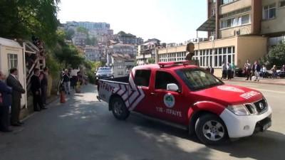 Zonguldak'ta Hastanede Yangın Tatbikatı