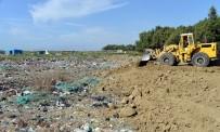 Adanalıoğlu'nda Eski Çöp Döküm Sahasının Üzeri Toprakla Kapatıldı