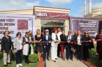 Asuman Yiğit'in Resim Sergisi Büyükçekmece'de Açıldı