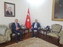 KONYA VALİSİ - Başkanı Taş'tan Konya Valisi Toprak'a Ziyaret