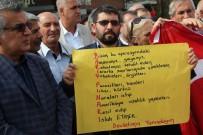 İSRAIL BAYRAĞı - Malatya'da STK'lardan Harekata Destek Açıklaması
