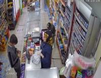 Çocuk hırsız çikolata çalarken yakalandı
