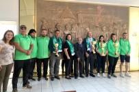 DAMAT İBRAHİM PAŞA - Şampiyonaya Kadın Sporcu Damgası
