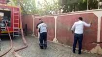 KURAN KURSU - Siirt'te Kuran Kursu Binasında Yangın