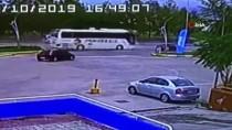 Sürücüsü Fenalaşan Yolcu Otobüsünü Muavin Durdurdu