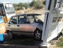 Akçadağ'da Trafik Kazası Açıklaması 1 Yaralı