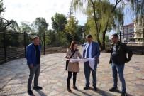 ELMALıK - Arka Sokak'ta Park Çalışmaları Devam Ediyor