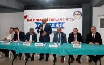 HALK MECLİSİ - Başkan Söğüt, 'Bizim Tek Derdimiz Hizmet'