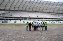 Çotanak Spor Kompleksinin Yüzde 80'İ Tamamlandı