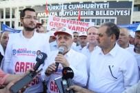 Hak-İş Genel Başkanı Arslan'dan Antalya'daki Greve Destek