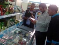 HAZıR YEMEK - Hakkari'deki Büyük Marketlerde Gıda Denetimi Yapıldı