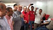İSKENDER YÖNDEN - İskenderun Gazeteciler Cemiyeti'nden Barış Pınarı Harekatına Kan Bağışı Kampanyası