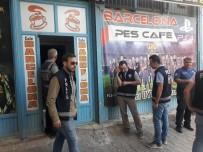 İslahiye'de İnternet Kafe, İddia Bayii Ve Oyun Salonlarına Polis Denetimi