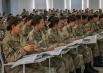 PERSONEL SAYISI - Jandarma Kadın Astsubaylar 'Barış Pınarı'Nda Görev Almak İçin Hazırlar