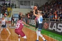 Kadınlar Basketbol Süper Ligi Açıklaması İzmit Belediyespor Açıklaması 100 - Elazığ İl Özel İdare Açıklaması 101