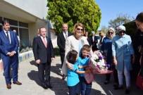 Milli Eğitim Bakanı Ziya Selçuk'un Eşi Rana Selçuk Ayvalık'ta İncelemelerde Bulundu