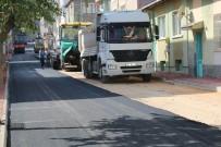 Odunpazarı Belediyesi Sokakları Asfaltlıyor