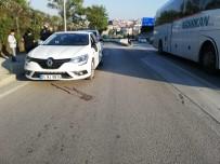 NECATI ÇELIK - Otomobilin Çarptığı Elektrikli Bisiklet Sürücüsü Hayatını Kaybetti