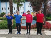 GÜREŞ MİLLİ TAKIMI - Şampiyon Güreşçiler Mehmetçik Oldu