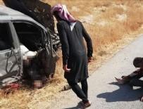 YPG/PKK Cerablus'ta füzeyle sivilleri vurdu: 2 ölü