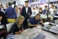 ATAOL BEHRAMOĞLU - 10. Antalya Kitap Fuarı İki Gün 45 Bine Yakın Kitapseveri Ağırladı