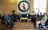 GÖLGELI - Başkan Işık'tan Rektör Uysal'a İade-İ Ziyaret