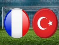 MEHMET ZEKI ÇELIK - Türkiye, Fransa'dan 1 puanla döndü