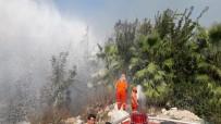 Irmak Kenarındaki Yangın Büyümeden Söndürüldü