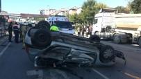 Yeşil Işığı Kaçırmamak İçin Gaza Yüklenen Sürücü Kazaya Neden Oldu Açıklaması 6 Yaralı